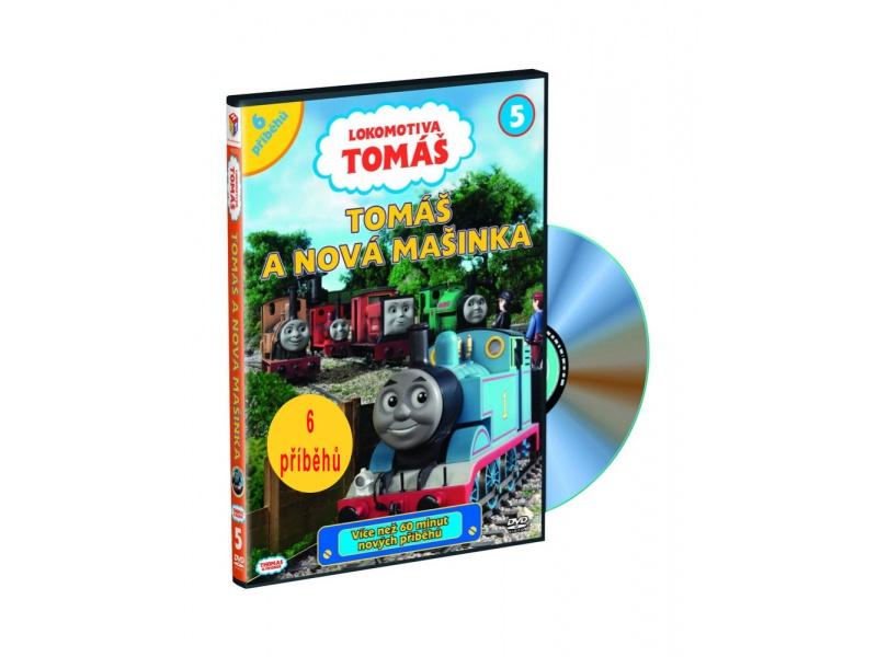 DVD5 Tomáš a nová mašinka