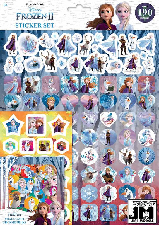 JIRI MODELS Samolepky velká sada 190+ Frozen 2 (Ledové Království)