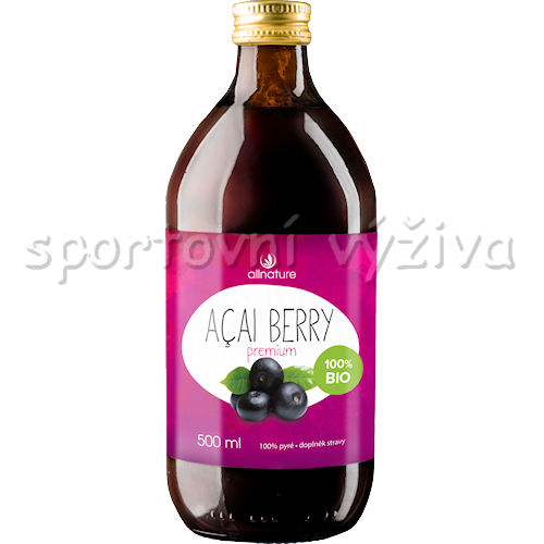 Allnature 100% BIO Acai Berry Premium 500ml