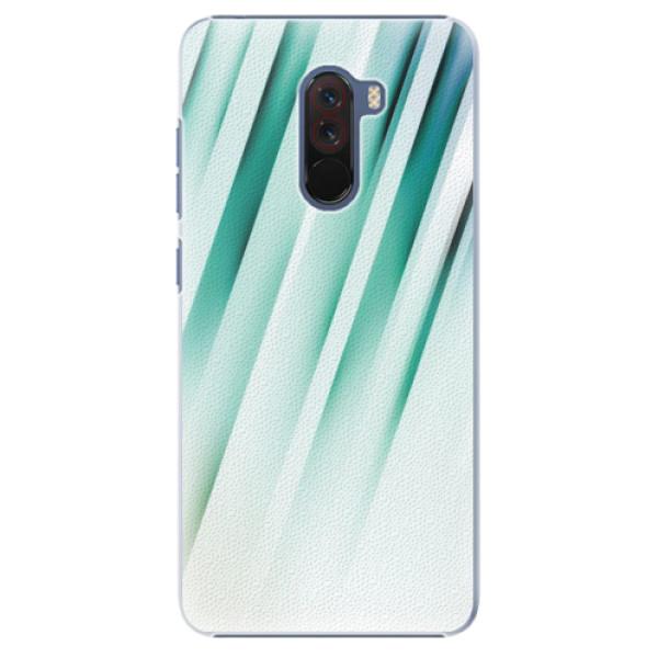 Plastové pouzdro iSaprio - Stripes of Glass - Xiaomi Pocophone F1