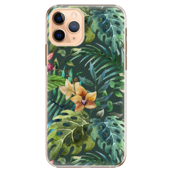 Plastové pouzdro iSaprio - Tropical Green 02 - iPhone 11 Pro