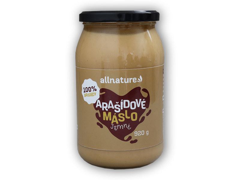 Arašídové máslo jemné 920g