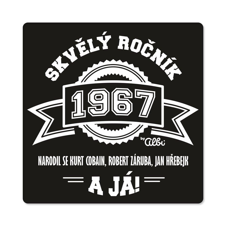 - Pánské humorné tričko - 1967, vel. L