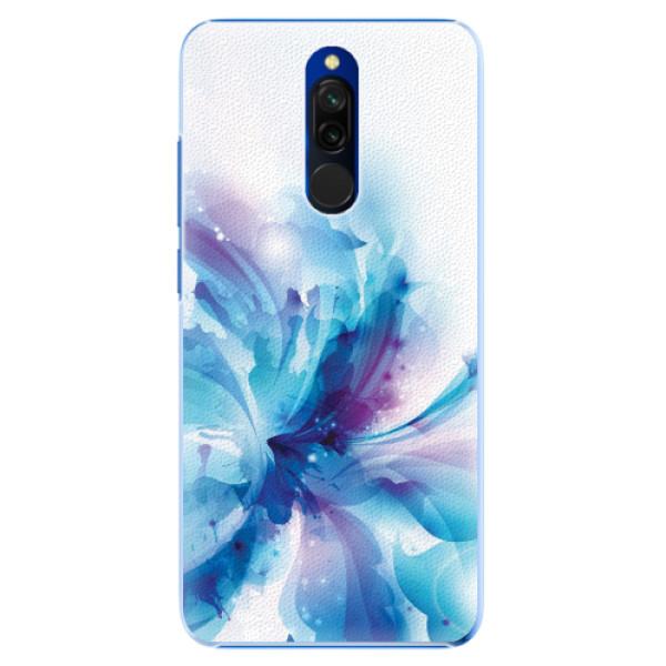 Plastové pouzdro iSaprio - Abstract Flower - Xiaomi Redmi 8
