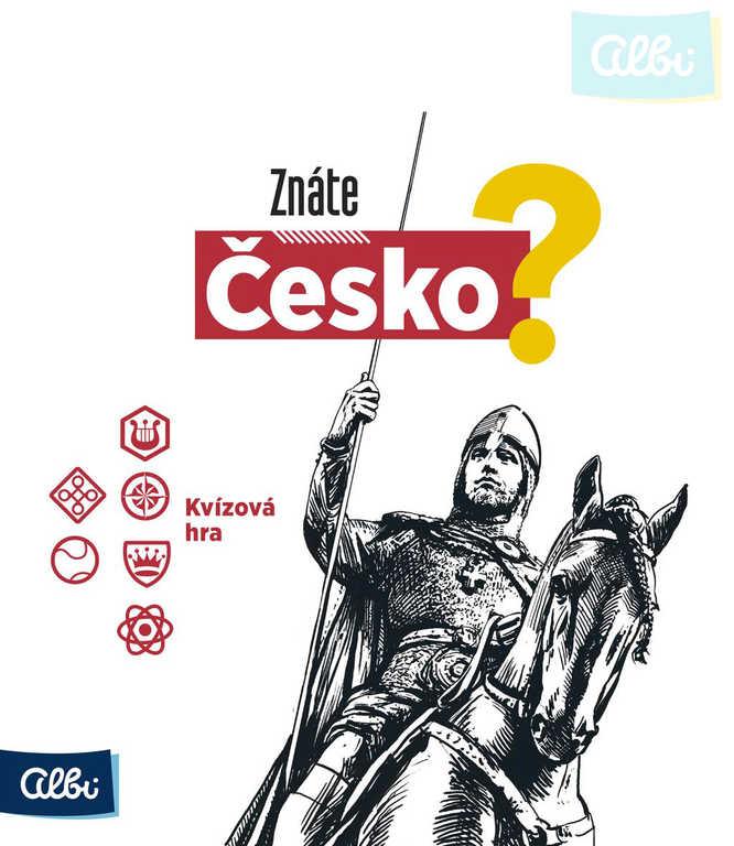 ALBI HRA Znáte Česko? kvízová *SPOLEČENSKÉ HRY*