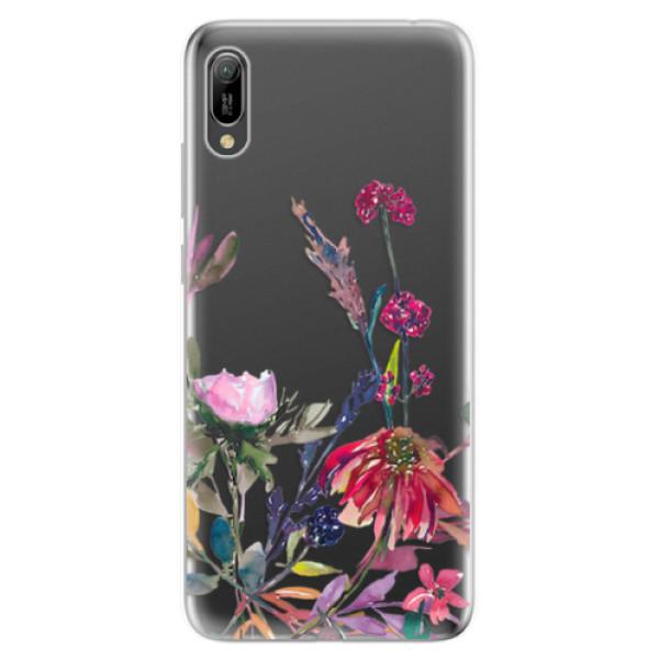 Odolné silikonové pouzdro iSaprio - Herbs 02 - Huawei Y6 2019