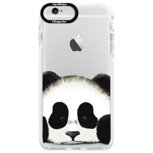 Silikonové pouzdro Bumper iSaprio - Sad Panda - iPhone 6 Plus/6S Plus
