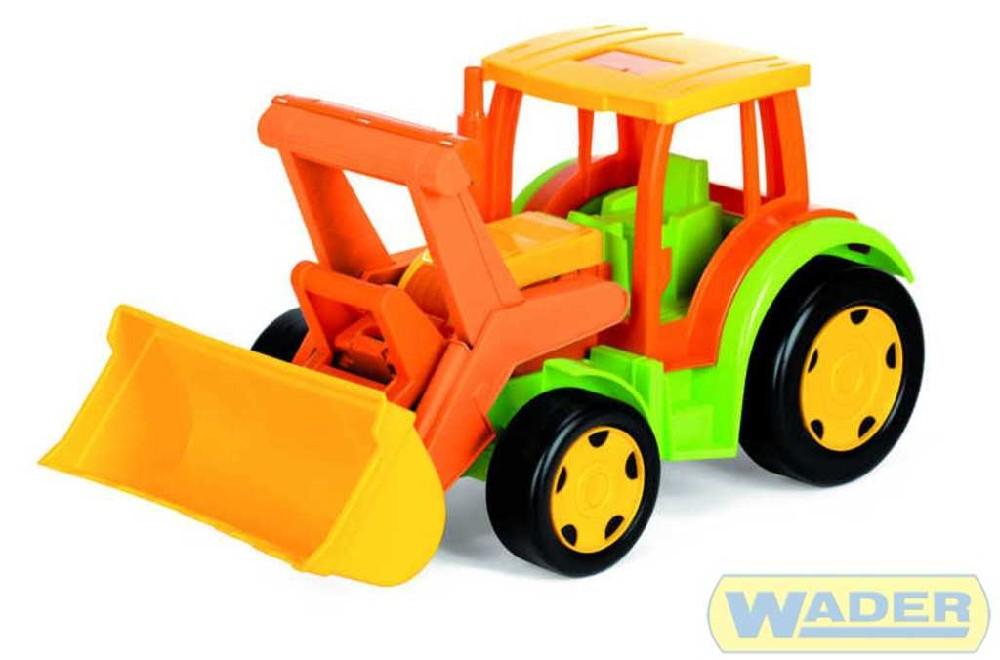 WADER GIGANT traktor solo NEW 66005 na písek