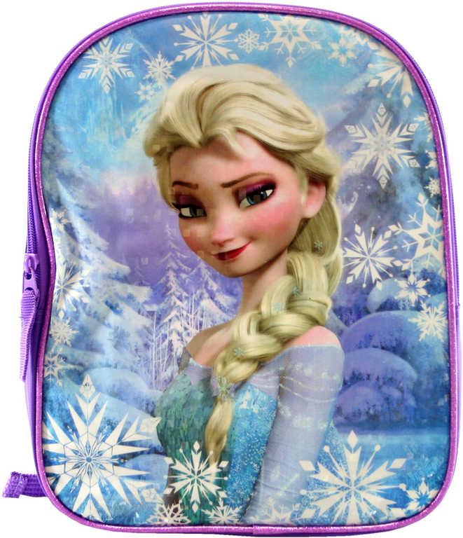 Batoh dětský Frozen (Ledové Království) na zip s poutkem s popruhy na záda v sáčku