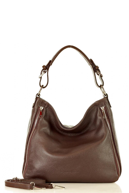 Přírodní kožená taška model 136446 Mazzini - UNI velikost