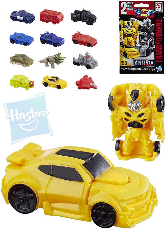 HASBRO Transformers Bumblebee mini 4cm Tiny Turbo Changer Movie auto robot