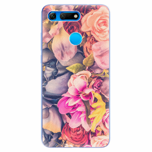 Silikonové pouzdro iSaprio - Beauty Flowers - Huawei Honor View 20