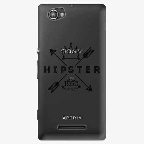 Plastový kryt iSaprio - Hipster Style 02 - Sony Xperia M