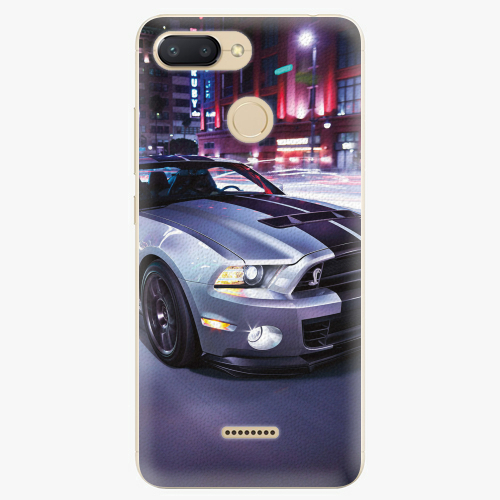 Plastový kryt iSaprio - Mustang - Xiaomi Redmi 6