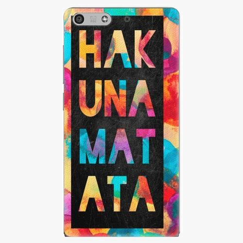 Plastový kryt iSaprio - Hakuna Matata 01 - Huawei Ascend P7 Mini