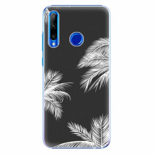 Plastový kryt iSaprio - White Palm - Huawei Honor 20 Lite