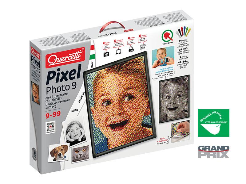 Quercetti Pixel Photo Art 9 0810 14.800 ks