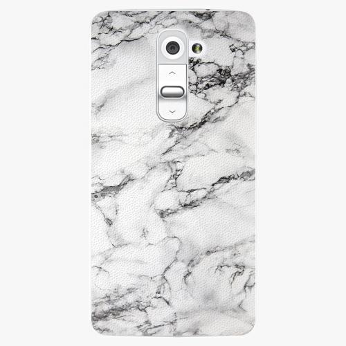 Plastový kryt iSaprio - White Marble 01 - LG G2 (D802B)