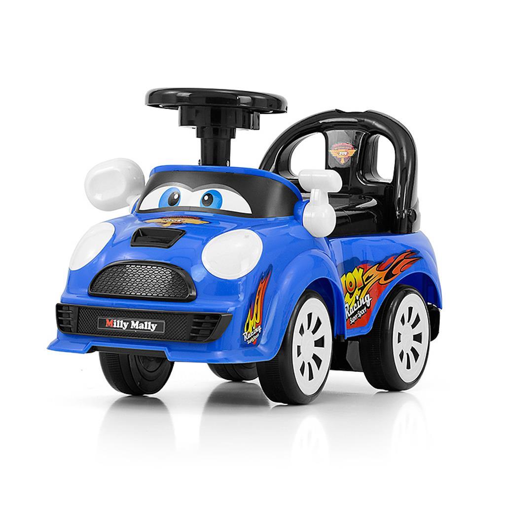 Dětské jezdítko se zvukem Milly Mally JOY - blue - modrá