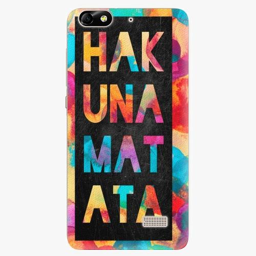 Plastový kryt iSaprio - Hakuna Matata 01 - Huawei Honor 4C