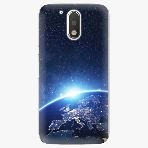 Plastový kryt iSaprio - Earth at Night - Lenovo Moto G4 / G4 Plus