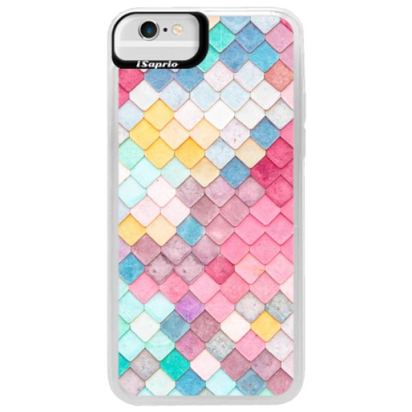 Neonové pouzdro Blue iSaprio - Roof - iPhone 6/6S