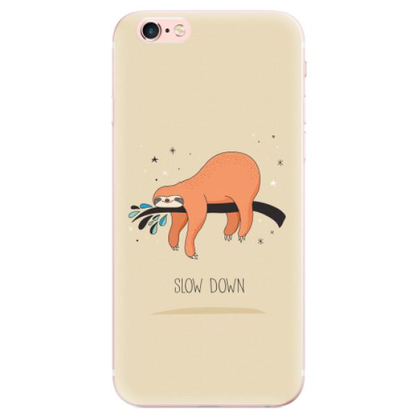 Odolné silikonové pouzdro iSaprio - Slow Down - iPhone 6 Plus/6S Plus