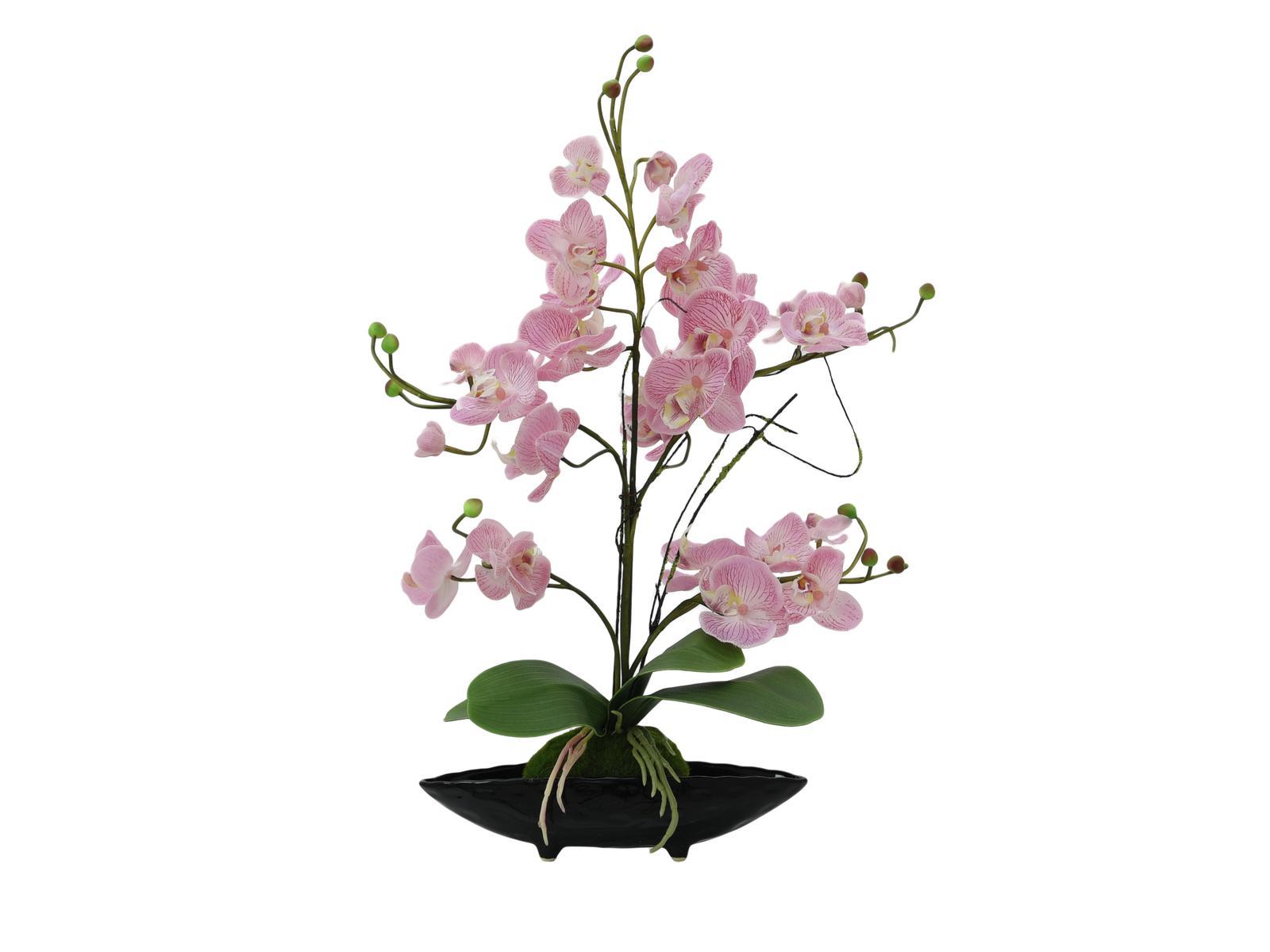 Orchidea dekorance EVA, fialová