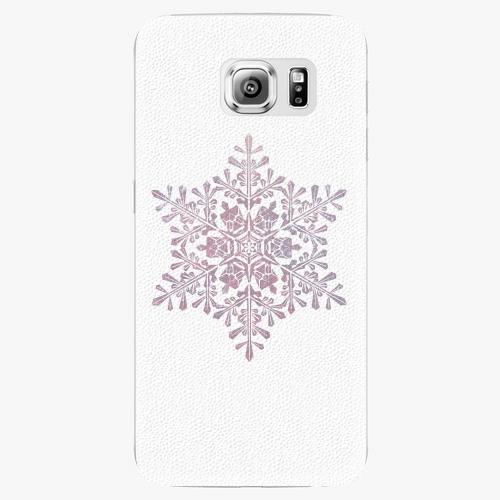 Plastový kryt iSaprio - Snow Flake - Samsung Galaxy S6 Edge