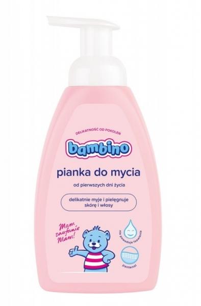NIVEA Dětská jemná pěna k mytí BAMBINO - 500 ml