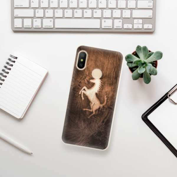 Odolné silikonové pouzdro iSaprio - Vintage Horse - Xiaomi Mi A2 Lite