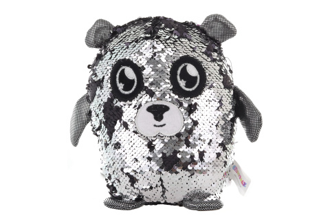 Flitrový plyšák - panda