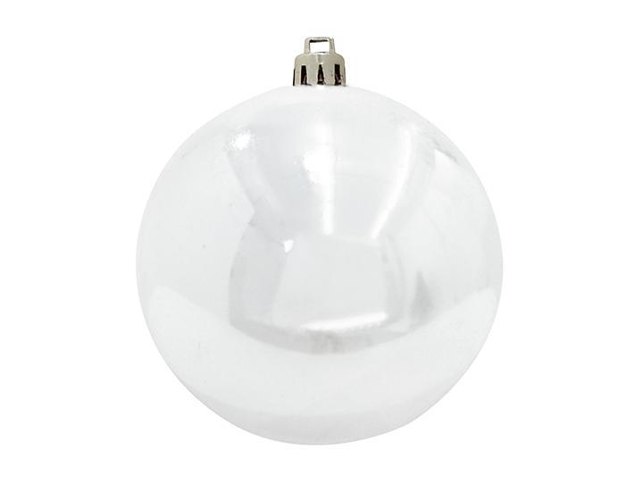 Vánoční dekorační ozdoba, 30 cm, bílá, 1 ks