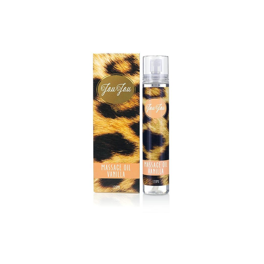 Masážní olej JouJou Massage Oil Vanilla 120 ml