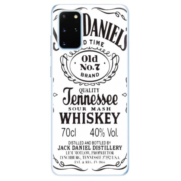 Odolné silikonové pouzdro iSaprio - Jack White - Samsung Galaxy S20+