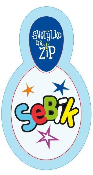 ALBI Světýlko na zip - Sebík