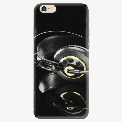 Silikonové pouzdro iSaprio - Headphones 02 - iPhone 6/6S