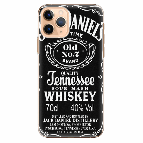 Plastový kryt iSaprio - Jack Daniels - iPhone 11 Pro
