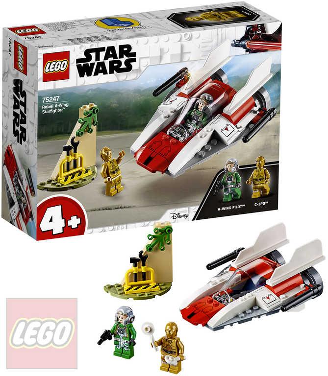 LEGO STAR WARS Povstalecká Stíhačka A-Wing 75247