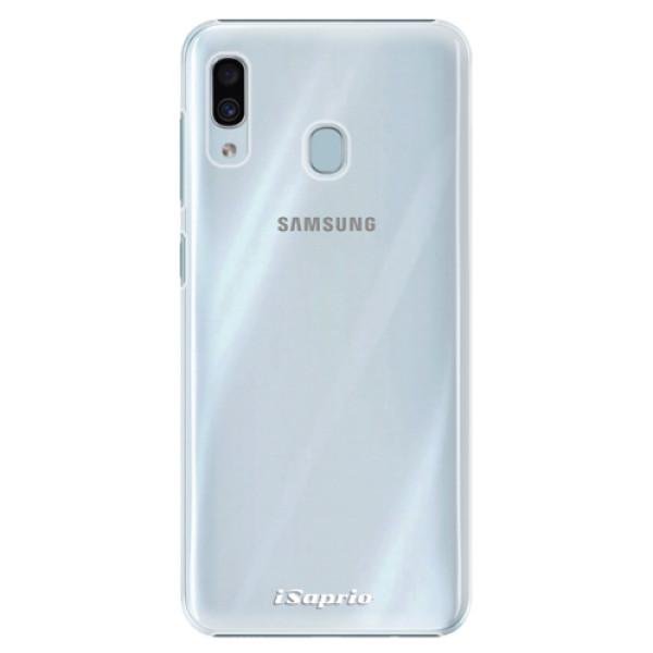 Plastové pouzdro iSaprio - 4Pure - mléčný bez potisku - Samsung Galaxy A30