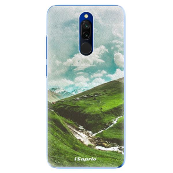Plastové pouzdro iSaprio - Green Valley - Xiaomi Redmi 8