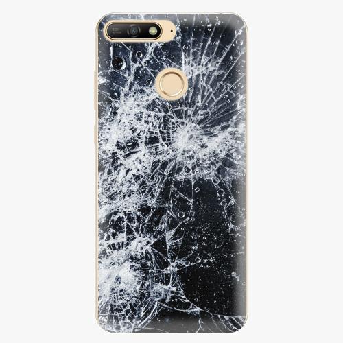 Plastový kryt iSaprio - Cracked - Huawei Y6 Prime 2018