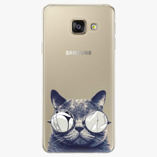Plastový kryt iSaprio - Crazy Cat 01 - Samsung Galaxy A5 2016