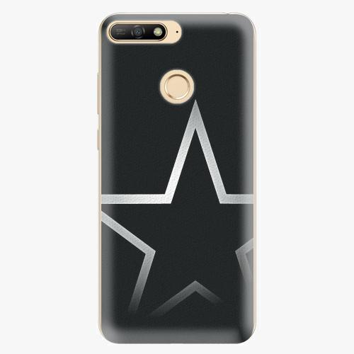 Silikonové pouzdro iSaprio - Star - Huawei Y6 Prime 2018