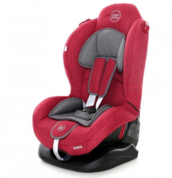 Autosedačka Coto Baby Swing 9-25kg, 2020 - červená, melír