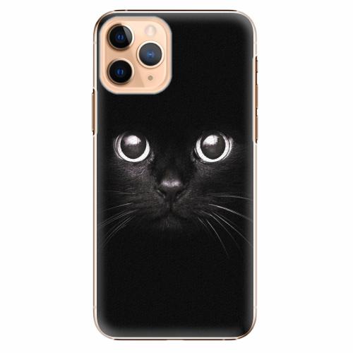 Plastový kryt iSaprio - Black Cat - iPhone 11 Pro
