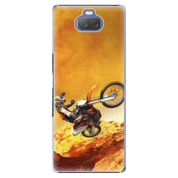 Plastové pouzdro iSaprio - Motocross - Sony Xperia 10