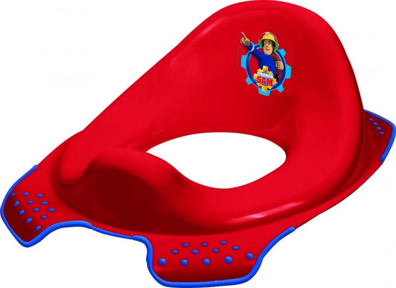 Keeeper Adaptér - treningové sedátko na toaletu Fireman Sam - červený