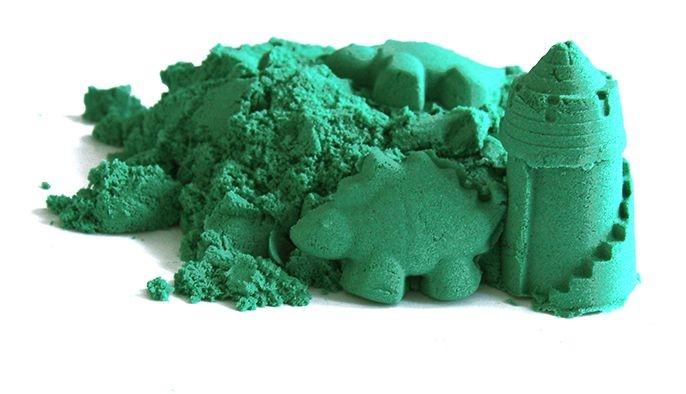 natursand-kineticky-pisek-zeleny-2kg-formicky-zdarma