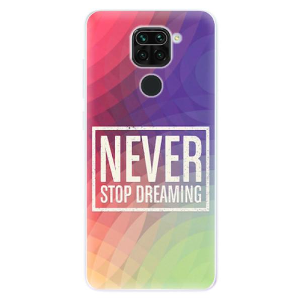 Odolné silikonové pouzdro iSaprio - Dreaming - Xiaomi Redmi Note 9